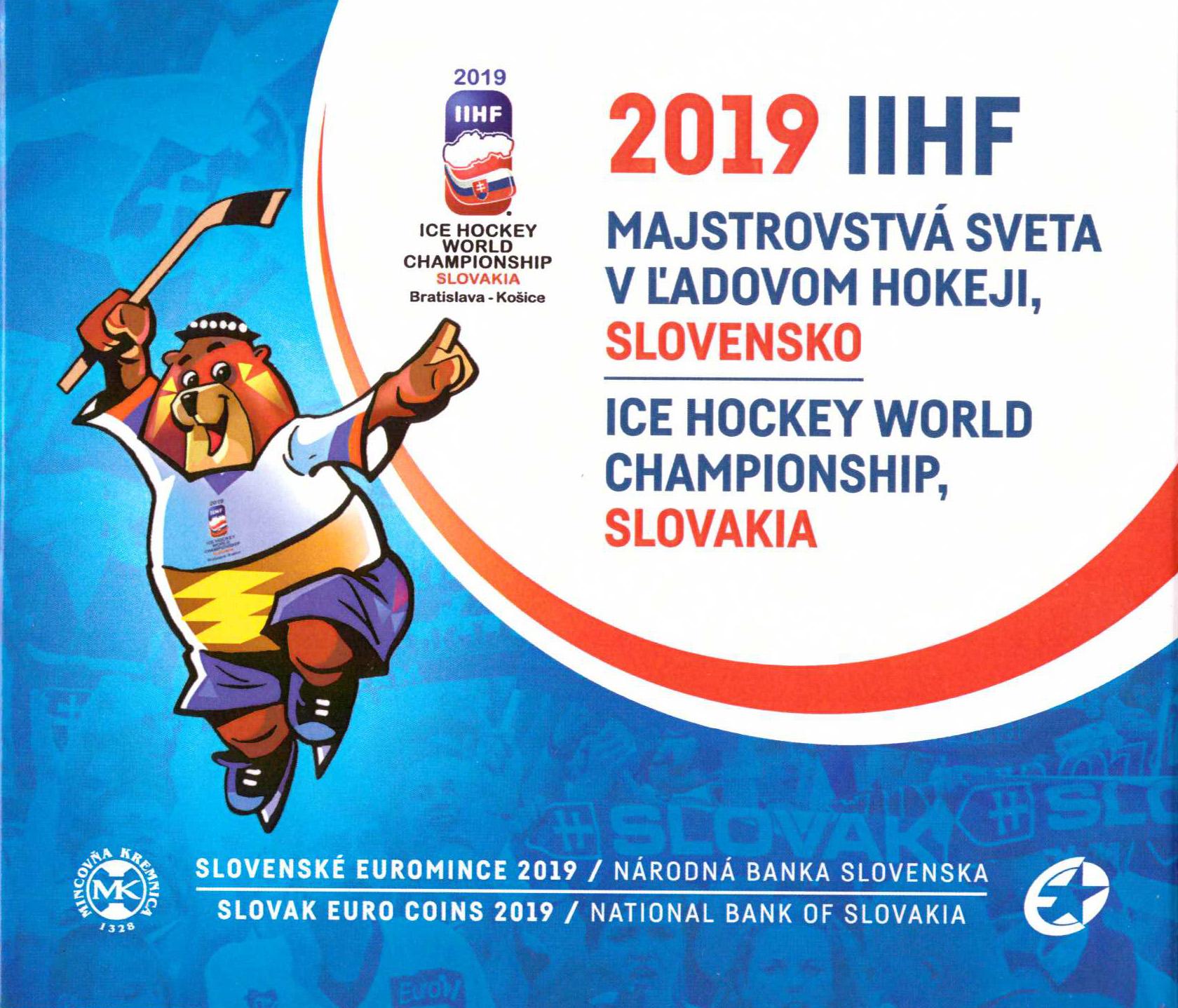 99537d2d5 Sada minci MS Hokej 2019 | e-shop|Moneta Cassovia